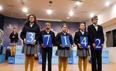 37142, primer premio de la Lotería del Niño