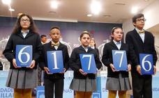 61776, segundo premio de la Lotería del Niño