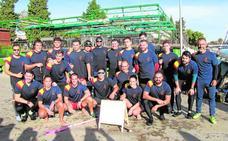 Murcianos a ritmo de récord Guinness por el Guadalquivir