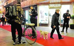 La nueva ordenanza veta el acceso de bicis y patinetes a calles como Trapería y Platería
