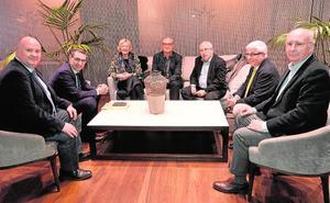 Reunión del jurado del Vargas Llosa de novela