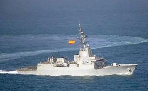 La fragata 'Álvaro de Bazán' hace escala en Cartagena y podrá ser visitada este fin de semana