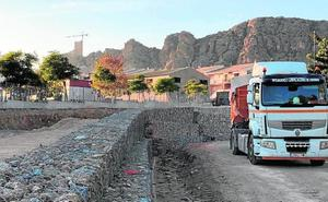 Un nuevo vial en el barrio de Los Dolores de Alhama