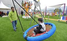 La Arrixaca estrena un parque de más de 1.100 metros para niños hospitalizado