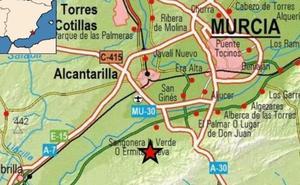Un segundo terremoto de magnitud 2,7 se deja sentir en Alcantarilla