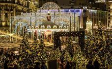 Moscú deslumbra por Navidad