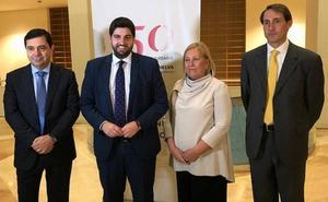 López Miras: «La decisión de derogar la LOMCE es una vuelta al pasado»