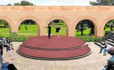 El entorno del Museo de la Huerta de Alcantarilla contará con un anfiteatro para actuaciones