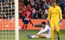 Griezman salva al Atlético tras dejarse remontar (2-3)