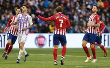 Las mejores imágenes del Valladolid-Atlético