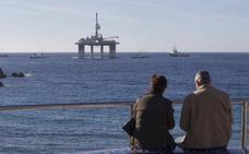 Llega a Cartagena una superplataforma petrolífera para su desguace