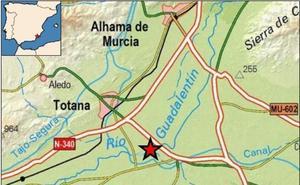 Un terremoto de 2,1 grados sacude Totana
