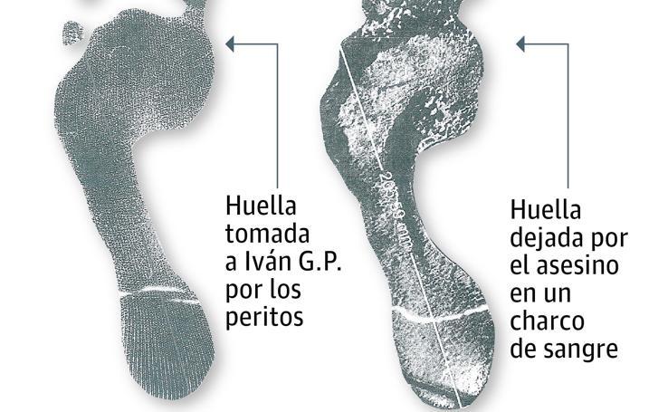 Un pie griego señala a Iván