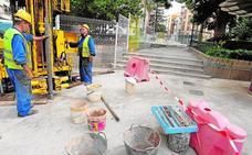 La remodelación de la Plaza de La Merced exige otras dos excavaciones arqueológicas