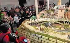 Las más de 30.000 visitas al belén convierten al Guevara en el monumento más concurrido