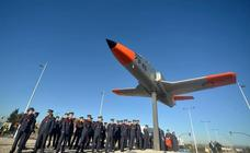 La rotonda de Beniaján, símbolo del homenaje de Murcia a la Academia General del Aire
