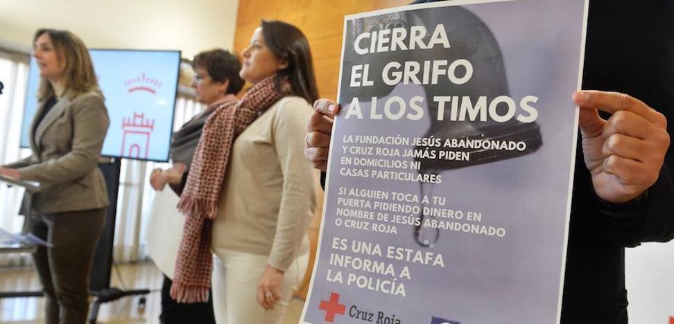 Cruz Roja y Jesús Abandonado alertan de que nunca piden dinero en metálico