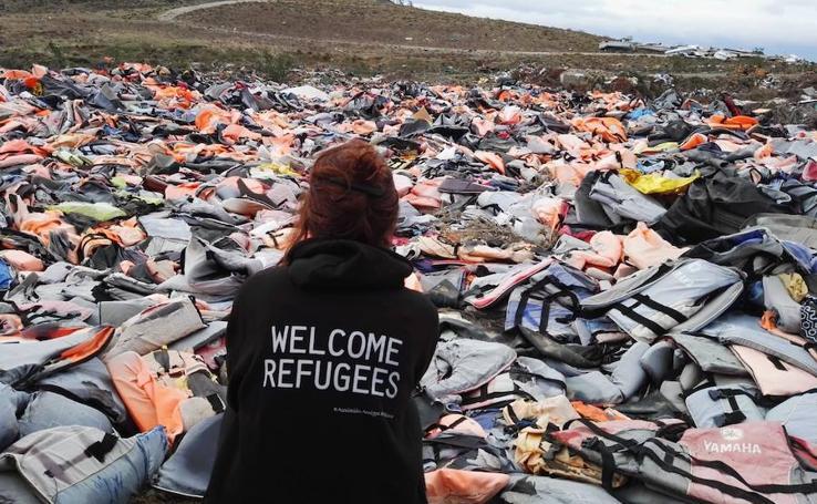 La solidaridad murciana no se olvida de Moria