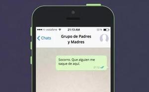 «Así logré que me echaran del grupo de Whatsapp de padres del colegio»