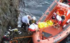 Rescatan a una mujer que había caído al mar en Cabo de Palos