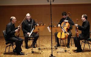 'Concierto de Navidad' del Cuarteto Saravasti en el 'Víctor Villegas'