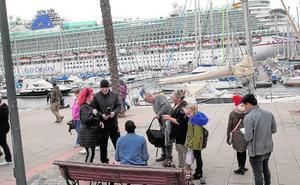 El Puerto de Cartagena rompe la estacionalidad invernal con once cruceros en enero y febrero