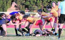 El XV Rugby Murcia femenino, campeón de la primera fase