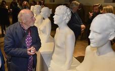 Antonio López expone cinco esculturas inéditas en el Palacio de San Esteban
