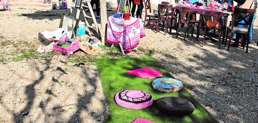 El pop art nace del ladrillo en Los Alcázares