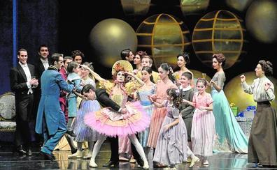 'El Cascanueces' de José Carlos Martínez baila hoy en el Auditorio