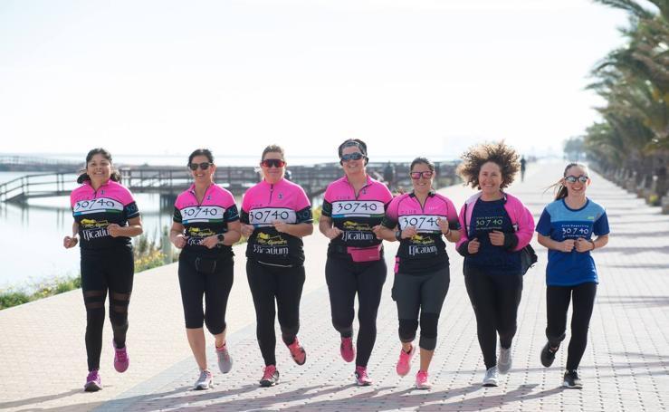 Mujeres de la Región se organizan en grupos para salir a correr