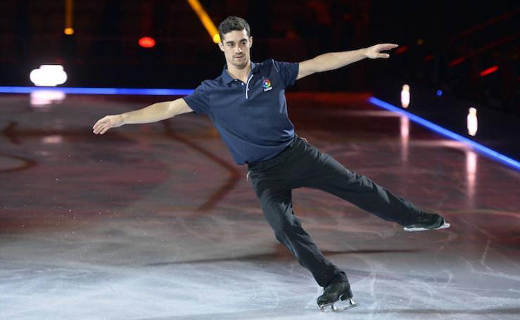 El patinador olímpico Javier Fernández presenta 'Revolution on Ice'
