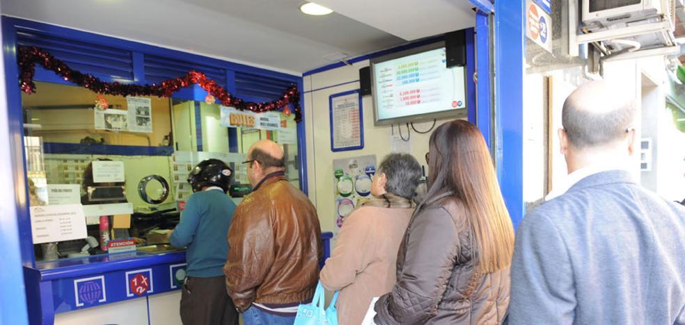 La venta de lotería de Navidad en la Región acumula cuatro años de incrementos