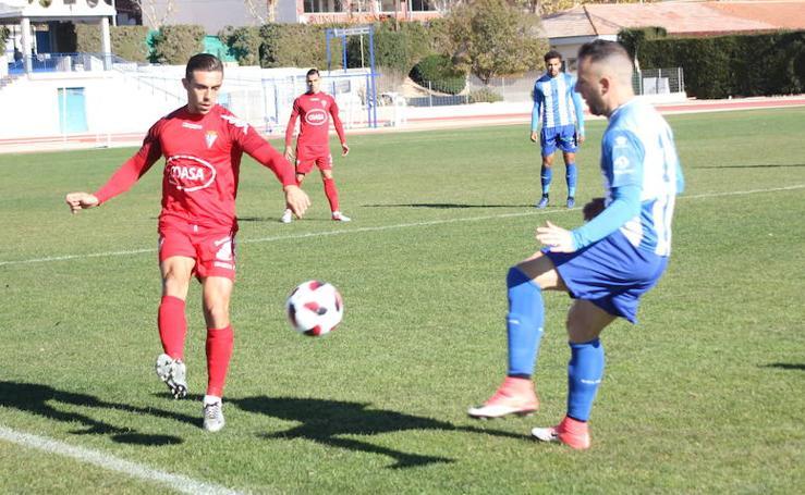 Demasiado castigo para el Jumilla ante el San Fernando (0-1)