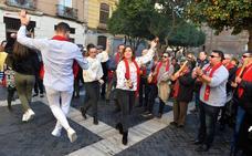 Encuentro de cuadrillas y peñas huertanas en Murcia