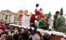 El desfile de Papá Noel «más saludable de España», en Murcia