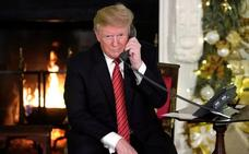 Trump le pregunta a un niño de 7 años: «¿todavía crees en Santa Claus?»