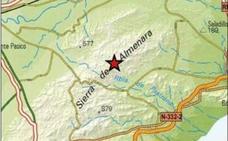Un temblor de 1,6 grados sacude la Sierra de Almenara