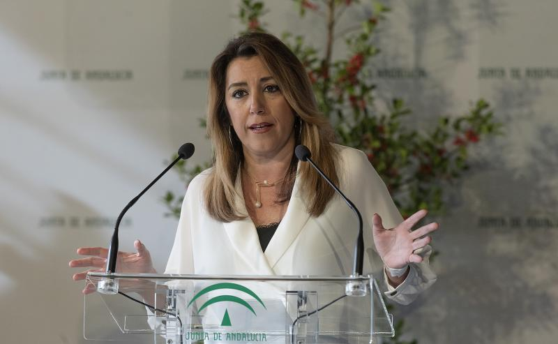 Susana Díaz marca distancias con Pedro Sánchez sobre Cataluña