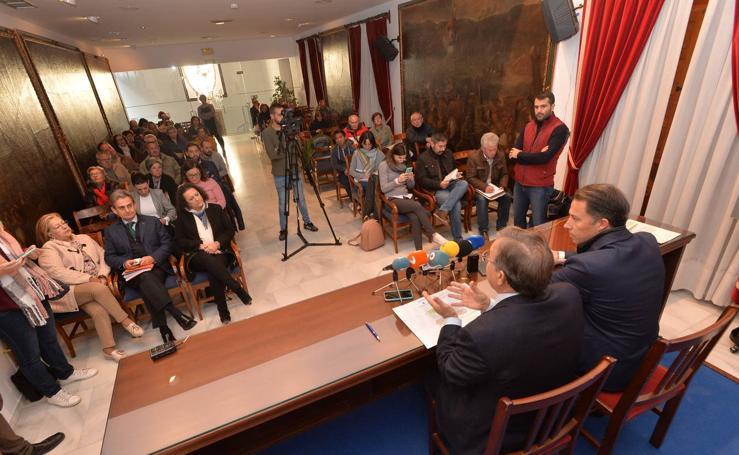 Archivan 68 expedientes de ayudas a la reparación tras los terremotos de Lorca