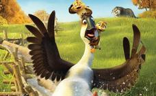 Cine infantil con 'Al aire, patos'