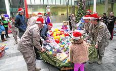 Una campaña municipal recoge más de tres mil juguetes para donarlos