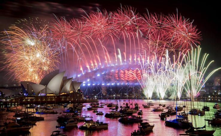 Australia da la bienvenida al 2019