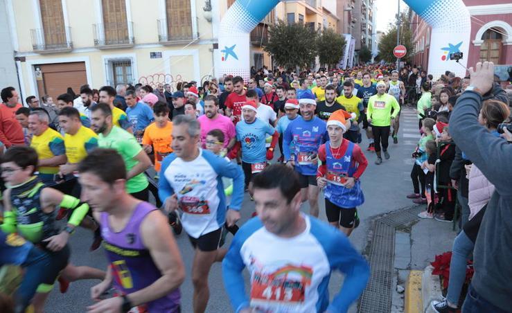 Las mejores imágenes de la San Silvestre de Lorca 2018