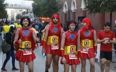 Lorca se disfraza para correr la San Silvestre