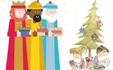 Los Reyes Magos vienen con muchos libros