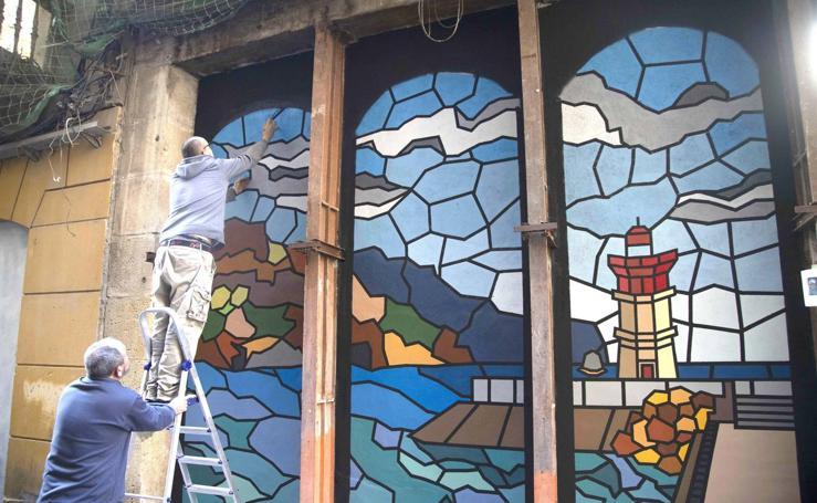 Los grafitis dan vida a Cartagena