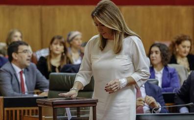 Susana Díaz confirma que se presentará a la investidura