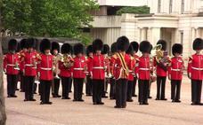 La banda más antigua del ejército británico desfila este viernes en Murcia