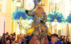 Un roscón gigante para más de mil niños de Lorca será hoy el preámbulo del día de Reyes